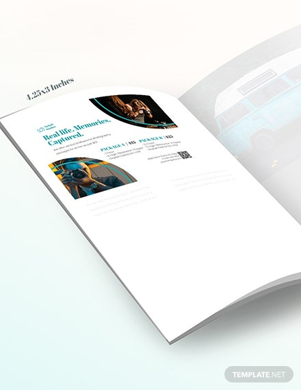 Sample Photographer Princing Magazine Ads