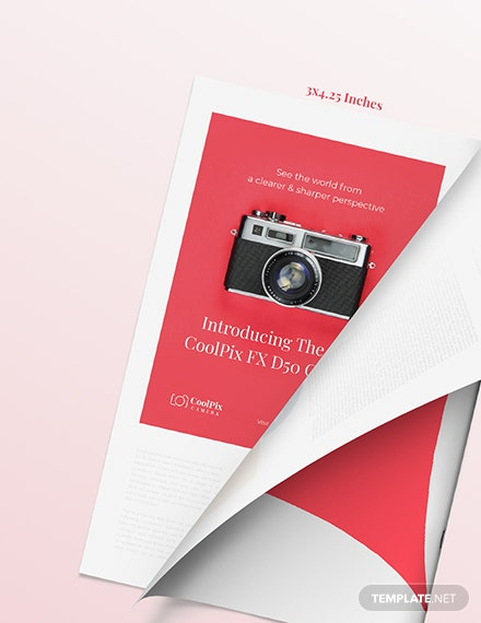 Photography Product Magazine Ads Download