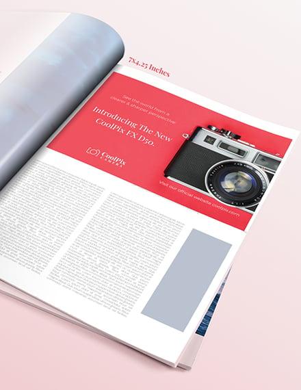 Sample Photography Product Magazine Ads