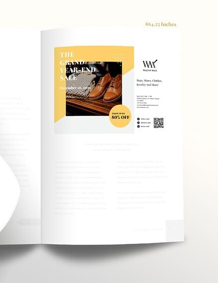 Sample Printable Business Magazine Ads