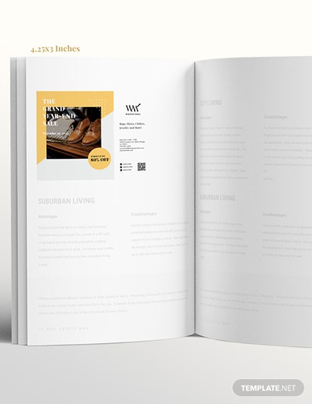Simple Printable Business Magazine Ads