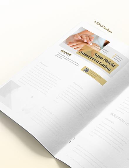 Sample Printable Product Magazine Ads