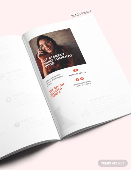 Simple Magazine Ads Template
