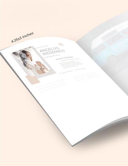 Sample Wedding Layout Magazine Ads