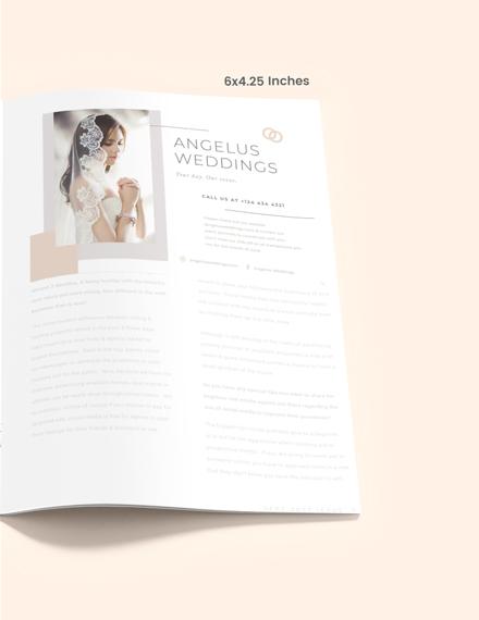 Wedding Layout Magazine Ads Download