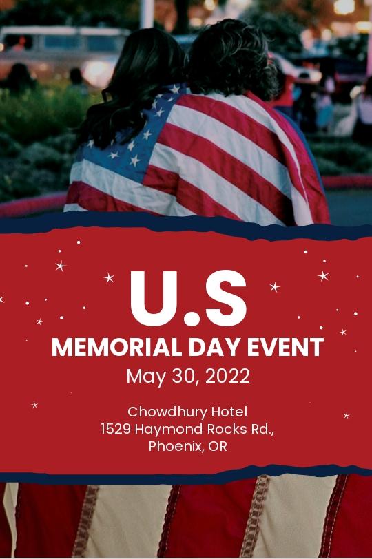 Free Memorial Day Tumblr Post Template
