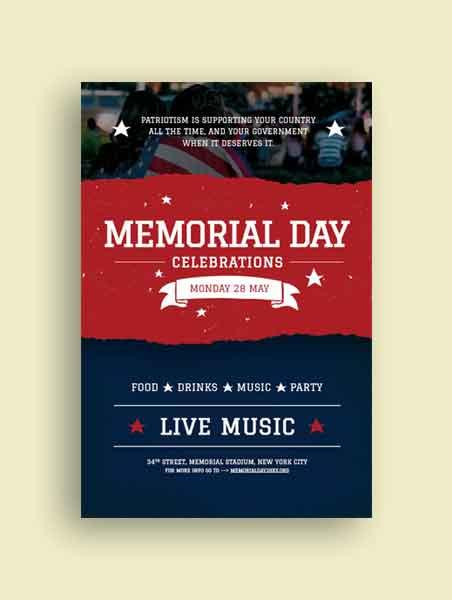 Memorial Day Tumblr Post Template