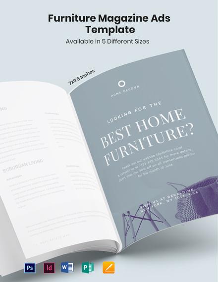 Furniture Magazine Ads