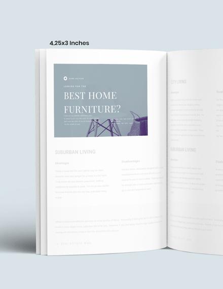 Simple Furniture Magazine Ads