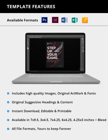 Editable Simple Product Magazine Ads
