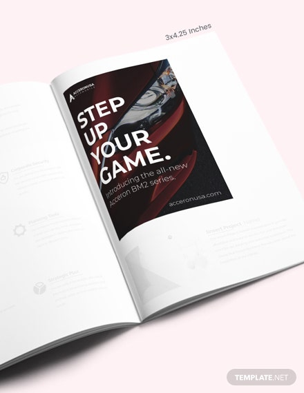 Simple Product Magazine Ads Template