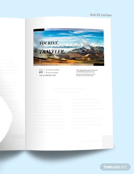 Sample Simple Travel Magazine Ads