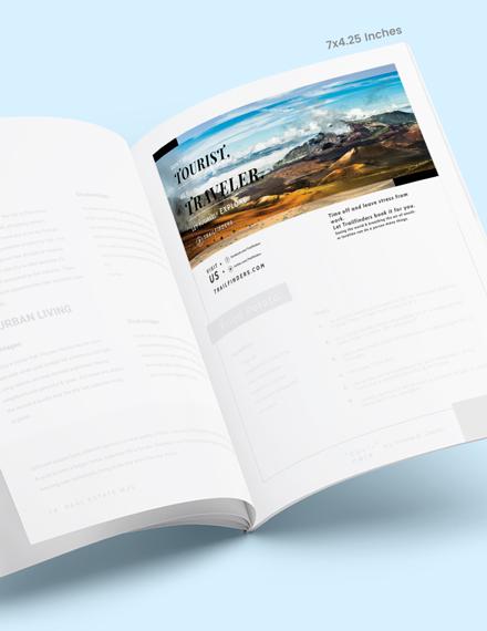 Simple Simple Travel Magazine Ads