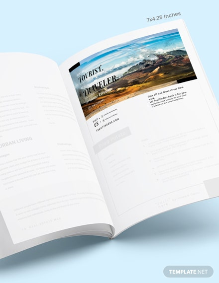 Simple Travel Magazine Ads Download