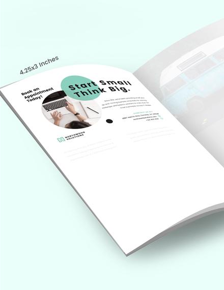 Sample Small Business Magazine Ads