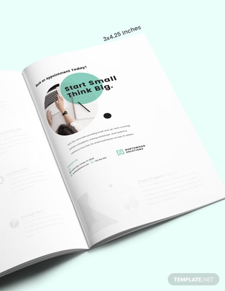 Simple Small Business Magazine Ads