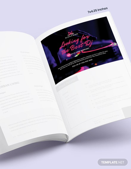 Wedding DJ Magazine Ads Download