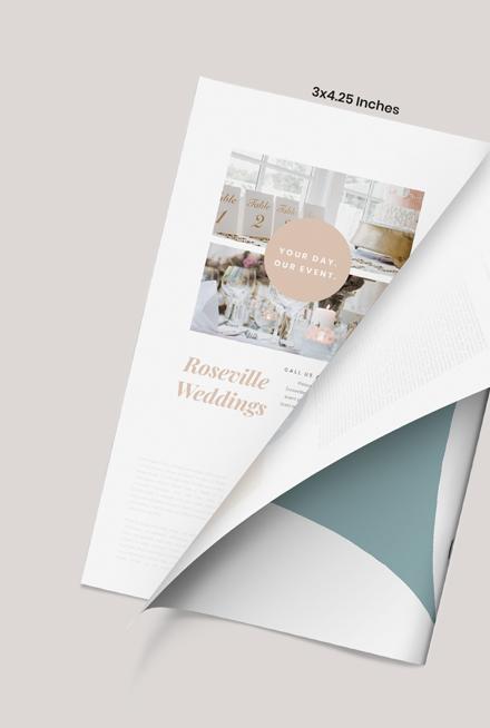 Wedding Event Magazine Ads Download