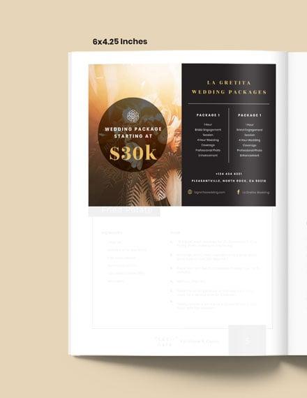 Wedding Package Magazine Ads Download