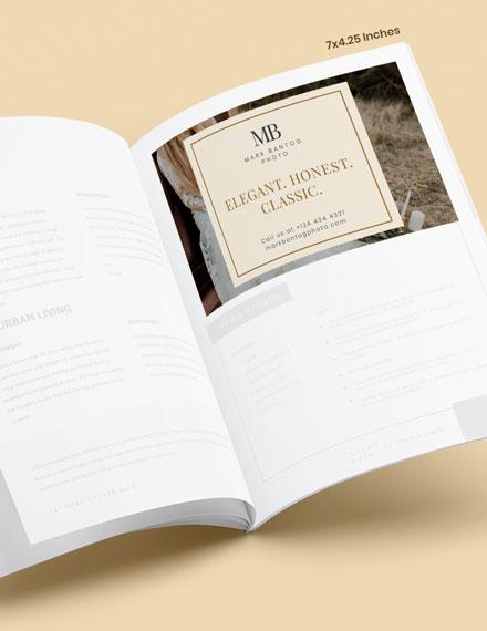 Wedding Photographer Magazine Ads Download