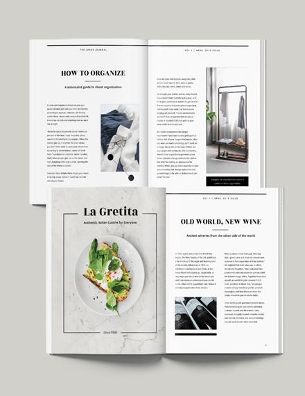 Minimalist Magazine Download