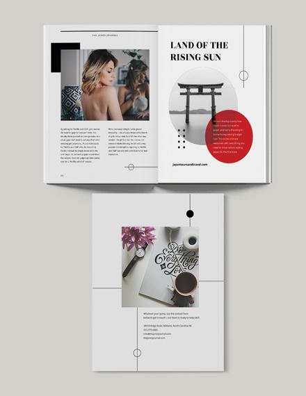 Sample Minimalist Magazine