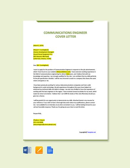Communication Engineer