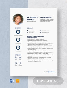 Medical Record Clerk Resume Template