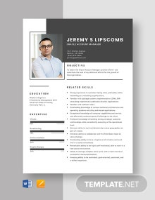 Oracle Account Manager Resume Template