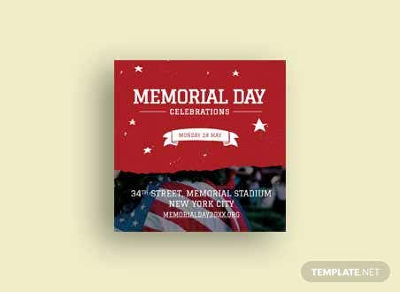 Memorial Day Youtube Profile Photo Template