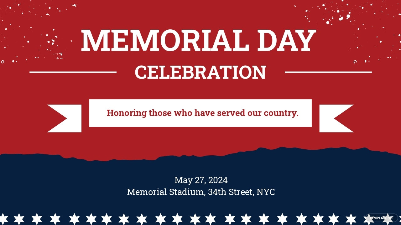 Free Memorial Day Youtube Video Thumbnail Template
