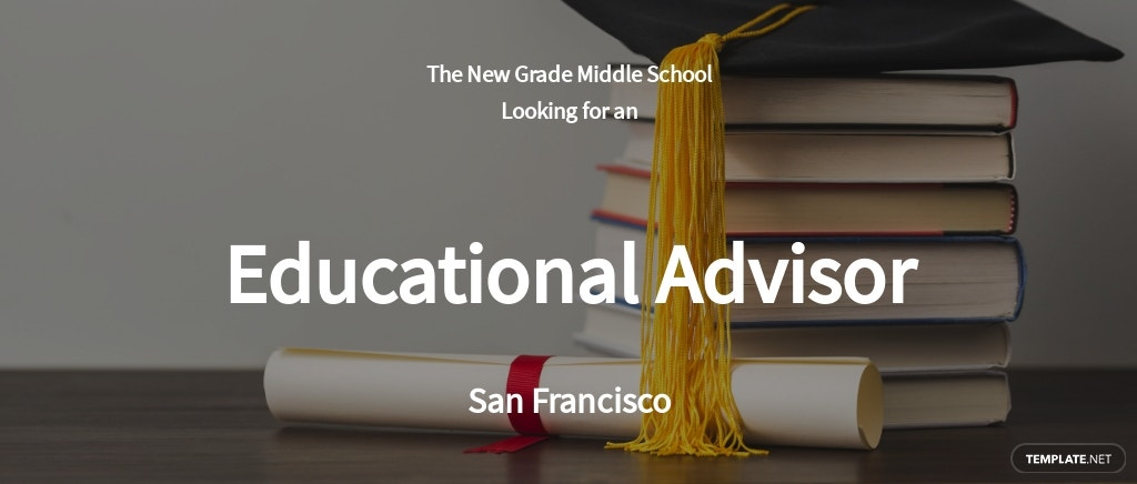 Educational Advisor Job Ad and Description Template