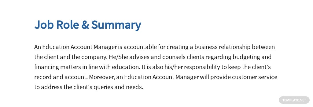 Free Education Account Manager Job Ad and Description Template 2.jpe