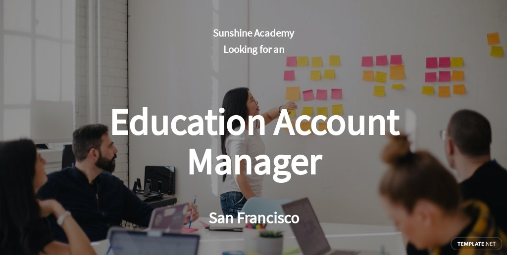 Free Education Account Manager Job Ad and Description Template.jpe