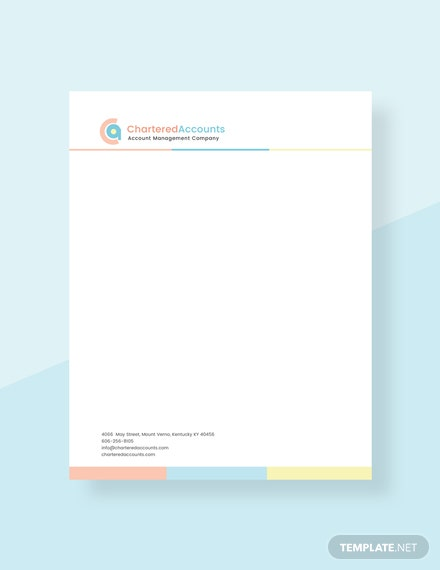 Free non profit organization letterhead template download for Free letterhead templates for mac
