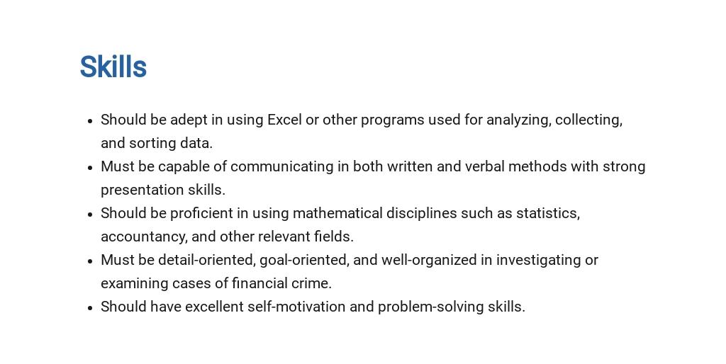 Free Financial Crimes Investigator Job Ad/Description Template 4.jpe