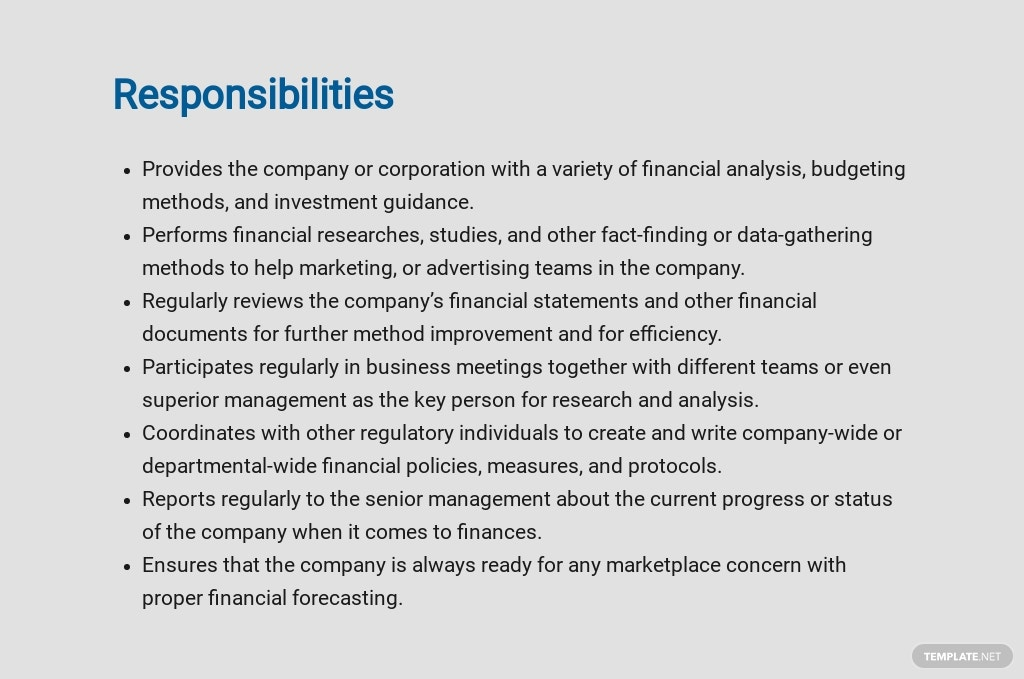 Free Financial Research Analyst Job Ad/Description Template 3.jpe