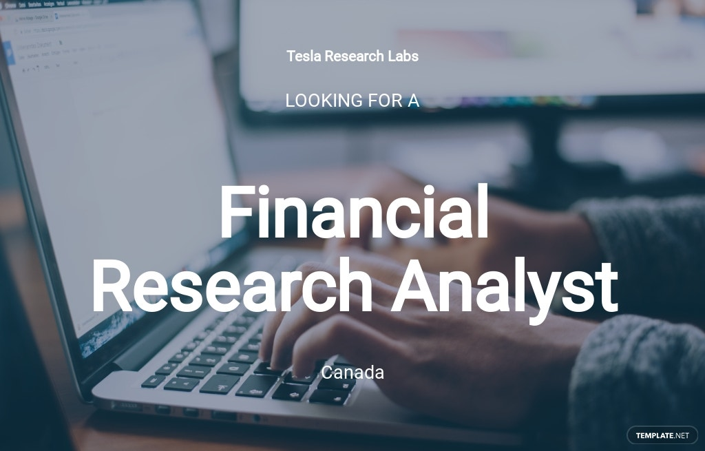 Free Financial Research Analyst Job Ad/Description Template.jpe