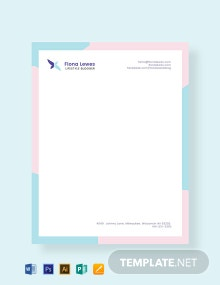 Free Personal Letterhead Template