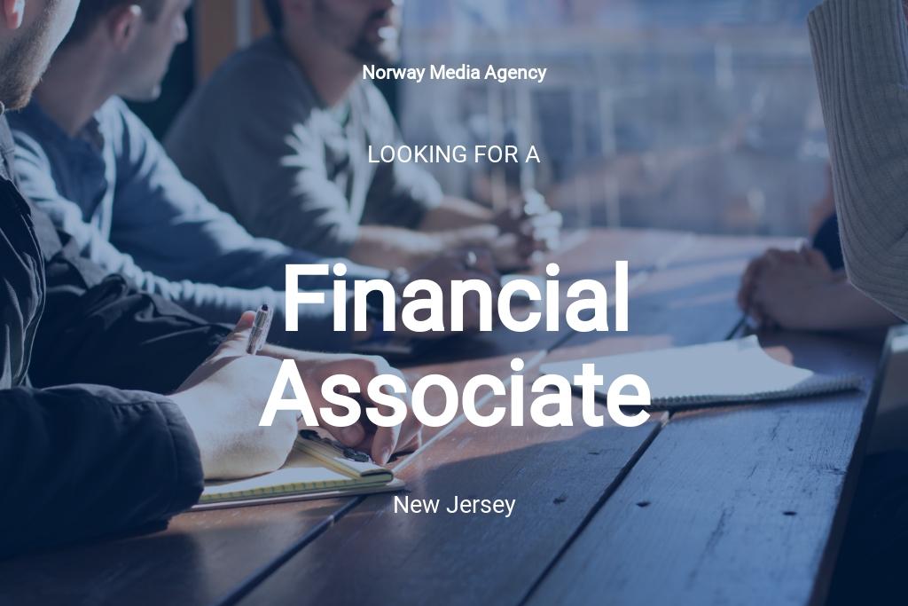 Financial Associate Job Description Template