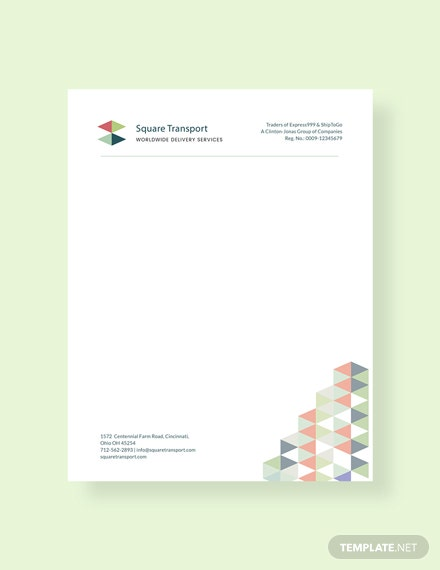 Free professional letterhead template download 31 for Free letterhead templates for mac