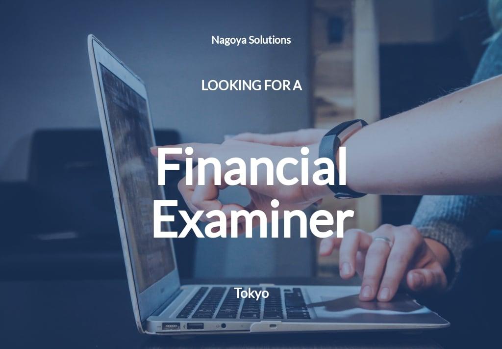 Free Financial Examiner Job Description Template.jpe
