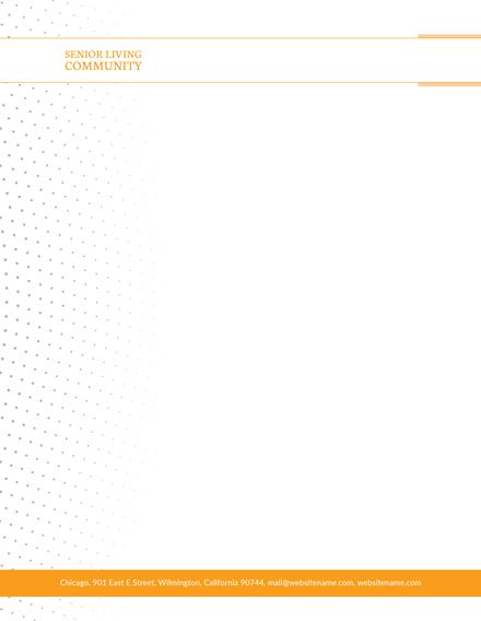 Community Service Letterhead Template: Download 31+ Letterheads in ...