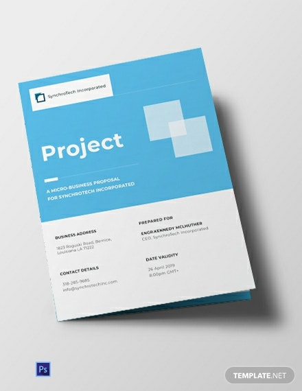 Free Small Business Brochure Template