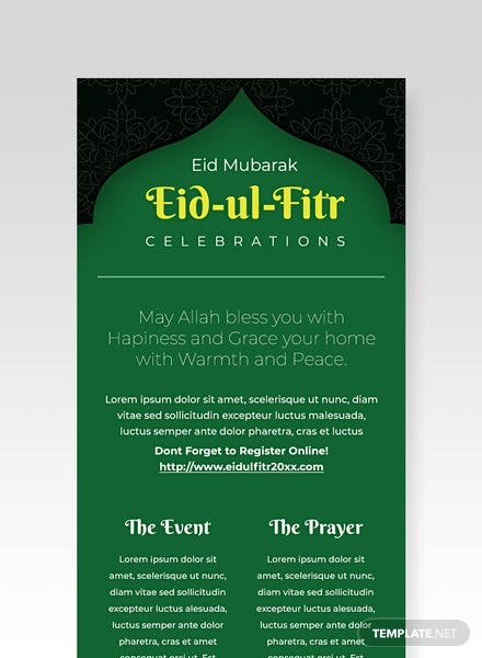 Eid Ul Fitr Email Newsletter Template