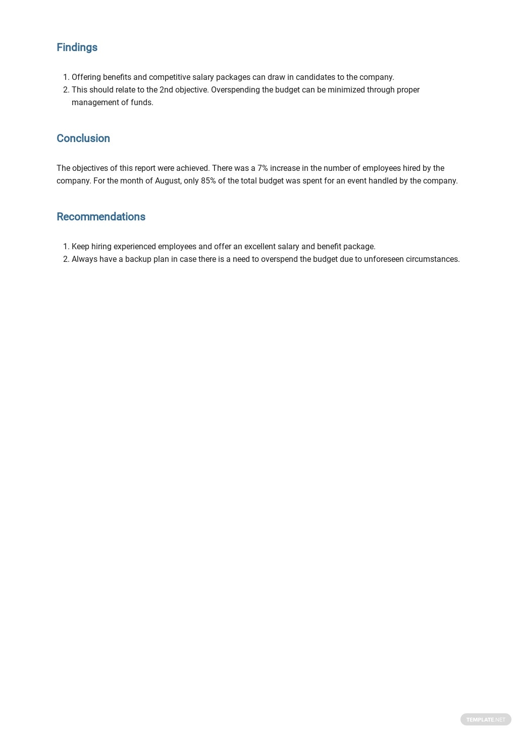 Free Event Management Report Template 3.jpe
