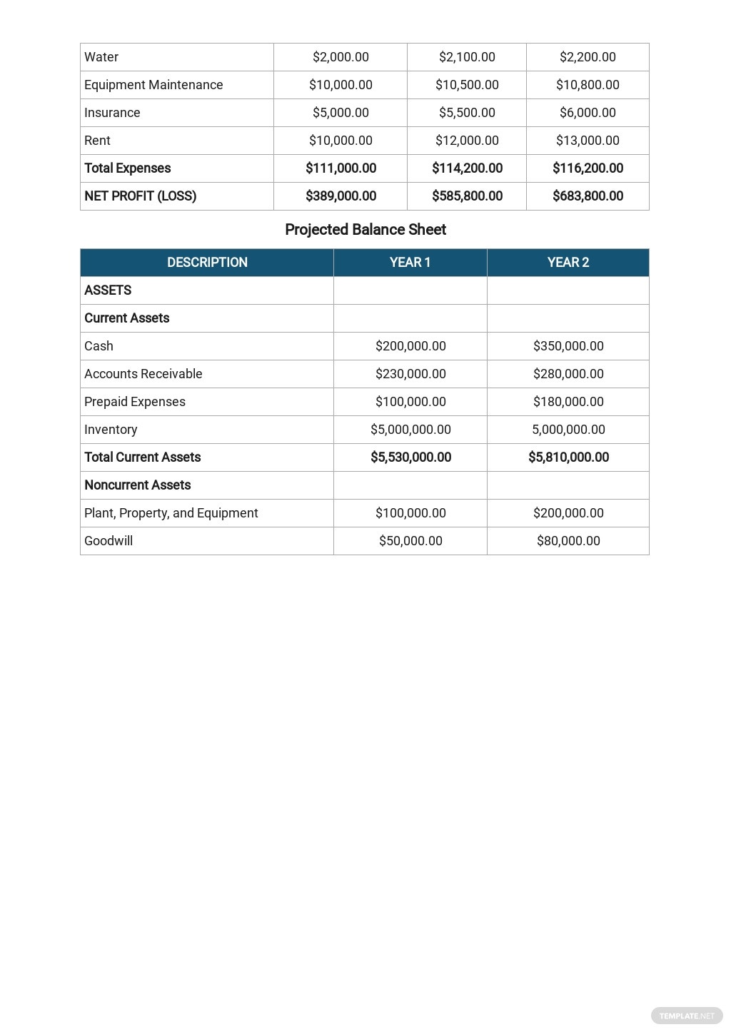 Free General Contracting Company Business Plan Template 8.jpe
