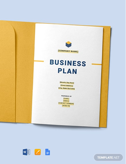 Free General Contracting Company Business Plan Template