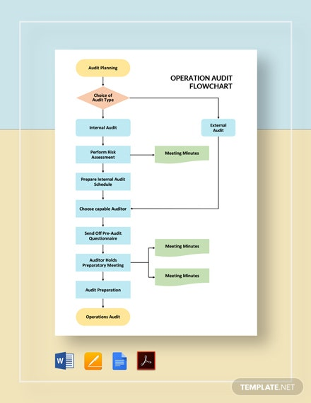 Operations Audit Flowchart Template