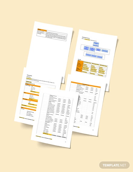 Editable Small Construction Business Plan